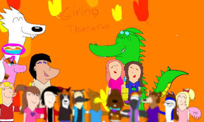 Thankfulness Friends by Beanie122001