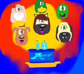Spirit Animals Emoji (Happy Birthday Kira) by Beanie122001