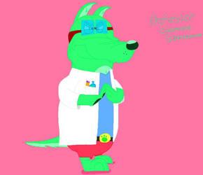 Professor Greened Schnauzer by Beanie122001