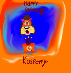 Happy Birthday Kosperry by Beanie122001