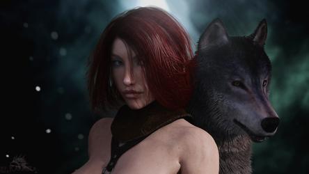 She-wolf by Karmela-LKL