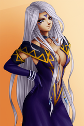 Urd (Oh! My Goddess) by noodles919