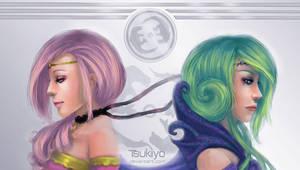Royal princesses by Tsukiiyo