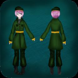 Phoenix Knights female uniforms by Kleptoid