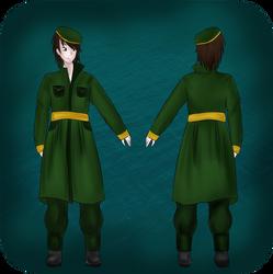 Phoenix Knights male uniforms by Kleptoid