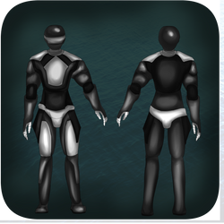 Steel Sentinals male uniform reference by Kleptoid