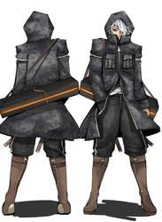 Faven empire Male infantry uniform by Kleptoid