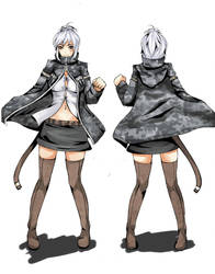 Faven empire Female infantry uniform by Kleptoid