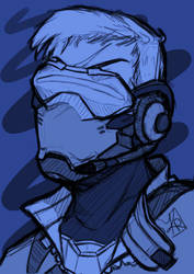 Soldier 76 by karlarei2003