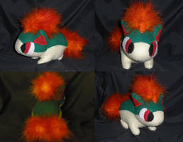 Quilava Pokedoll by Glacideas