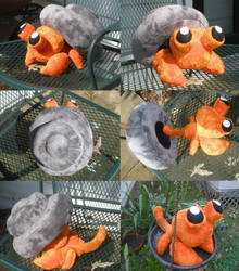 Dwebble Plush-Removable Shell by Glacideas