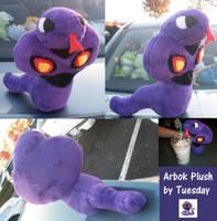 Arbok Plush by Glacideas