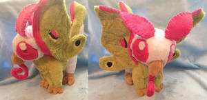 Moth Griffin Plush by Glacideas