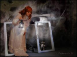 Ghost in cellar by Ruskatukka