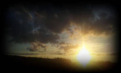 Evening sunshine by Ruskatukka