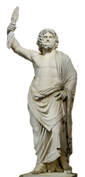 Statue Zeus stock PNG by Shadow-of-Nemo