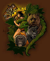 The Jungle Awakens by Alesa-art