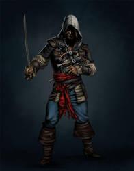 Black flag fanart by Terribilus