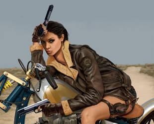 Lara Croft closeup 6 by Terribilus