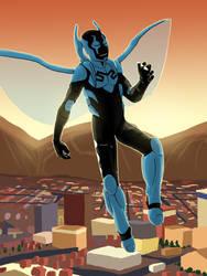 #1 - Blue Beetle (Jaime Reyes) by Fade31415