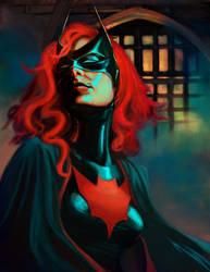 Batwoman by schultzee