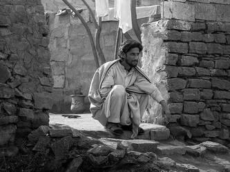 At The Door Step by InayatShah