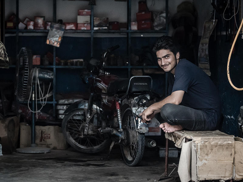 Motorcycle Mechanic by InayatShah