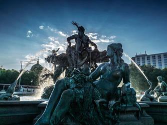 Neptunbrunnen - I Rework 21 by InayatShah