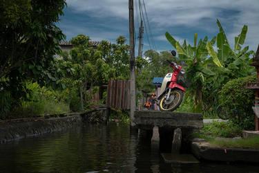 Water Bike - II by InayatShah