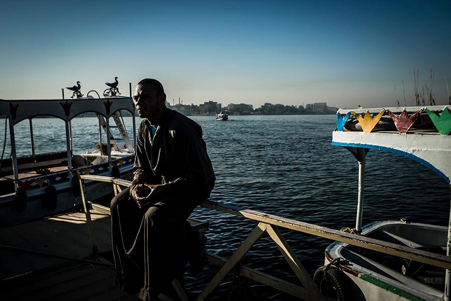 On The Nile - IX by InayatShah
