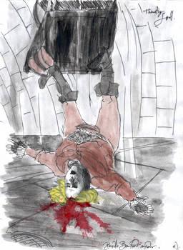Beadle  Bamford's  Fall by DemonCartoonist
