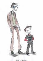 The  Teaveas by DemonCartoonist