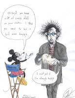 Mick  thinks... by DemonCartoonist