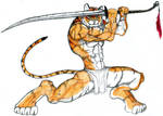 Tiger Warrior by Music-Energy
