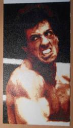 Rocky Balboa (Mini-Beads) by FTWBAmanojaku