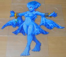 Zora-Princess Ruto (8,8k Artkal-Mini-Beads) by FTWBAmanojaku