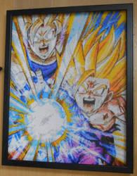 Gohan~Goku FatherSon-KameHameHa (Mini-Beads) by FTWBAmanojaku