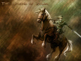 The Legend of Zelda by Dracofg
