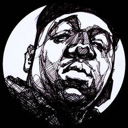 notorious B.I.G by inoaix