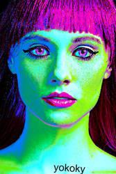Purple-girl by YOKOKY