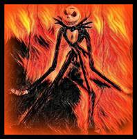 Marionette In Flames by YOKOKY
