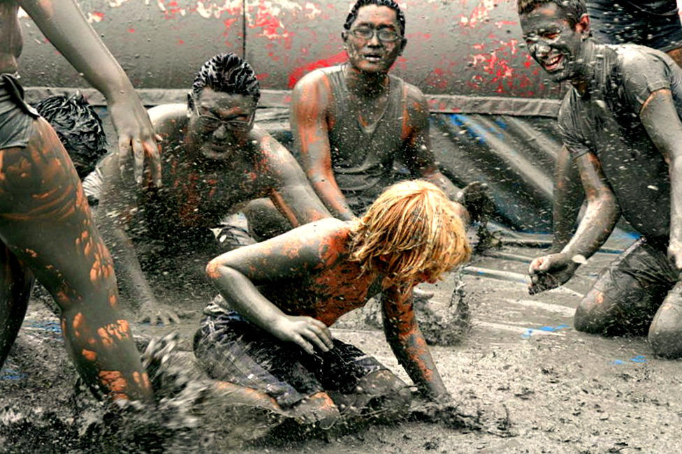 Boryeong Mud Festival in Boryeong, South Korea by YOKOKY