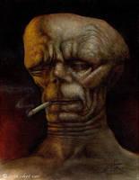 Dead Man Smoking by chetzar