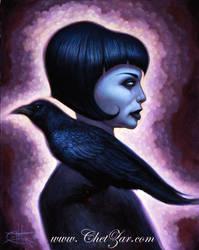 Crow Girl by chetzar