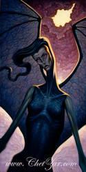 Storm Demon by chetzar