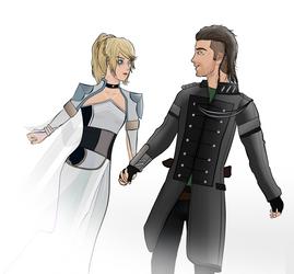 Kingsglaive: Luna and Nyx by Matt-Addison