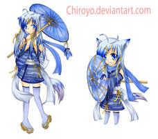 Kumoricon Mascot 2011 Entry by Chiroyo