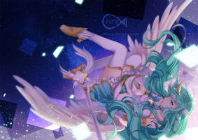 [LoL] Star Guardian Soraka by Chiroyo