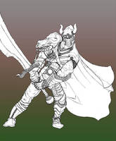 Sword-Man by drhamtology