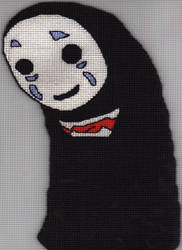 Spirited Away: No-face by Alondra-chui